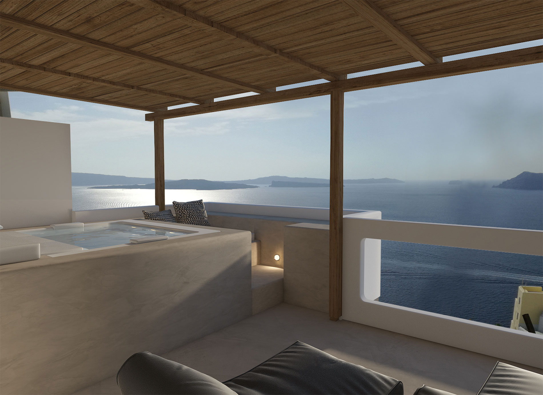 Canvas Suites | Santorini | Aether Suite
