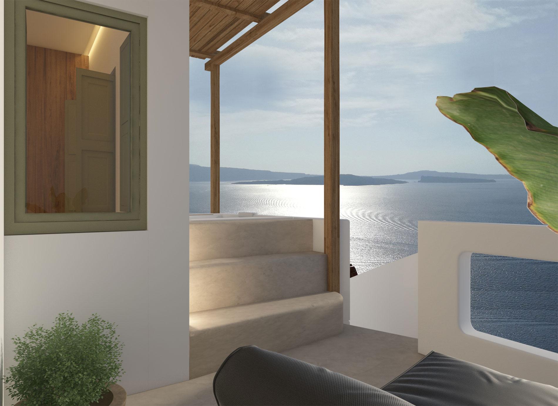 Canvas Suites | Santorini | Avra Suite