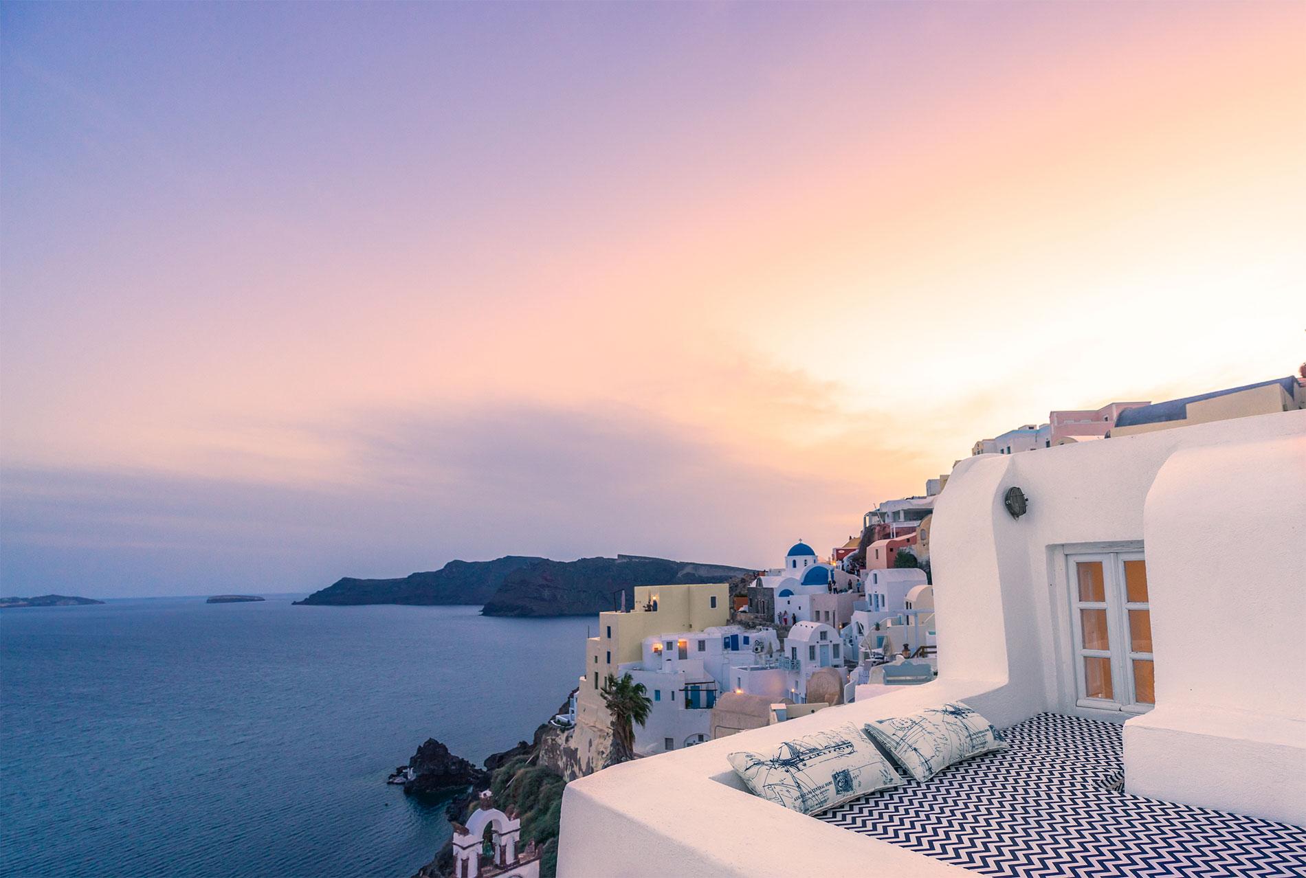 Canvas Suites | Santorini | Sea Suite